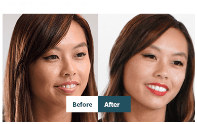 Elizabeth's Zoom transformation